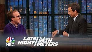 Comedian Chris Gethard Interview - Late Night with Seth Meyers