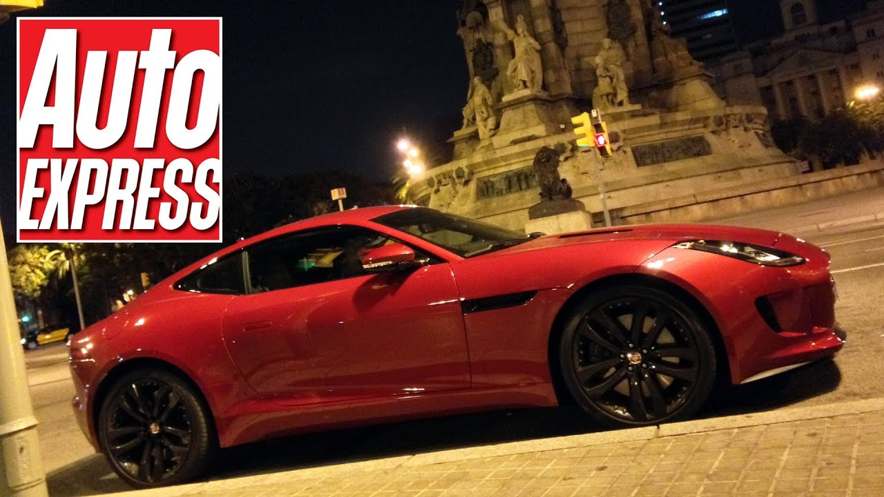 Jaguar F Type Coupe   Not Your Average Review...   YouTube