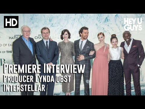 Producer Lynda Obst Interview - Interstellar Premiere