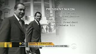 Nixon tapes show regrets over 1960 debate with Kennedy