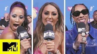 Celebrities Reveal Their Favourite VMAs Moment | 2018 VMAs