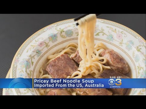 Taiwan Shop Sells World's Most Expensive Beef Noodle Soup For $325