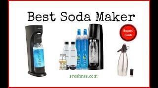 Best Soda Maker Reviews (2019 Buyers Guide)