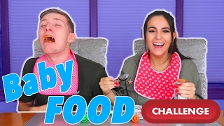 BOYFRIEND AND GIRLFRIEND (PARENTS TO BE!!!) BABY FOOD CHALLENGE!!