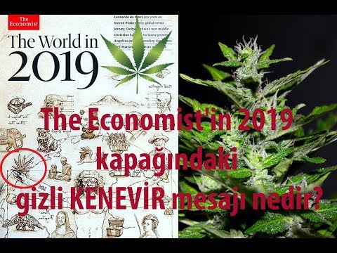 The Economist'in 2019 kapağındaki gizli kenevir mesajı nedir?