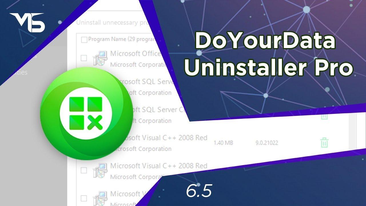 Resultado de imagen para DoYourData Uninstaller Pro 5