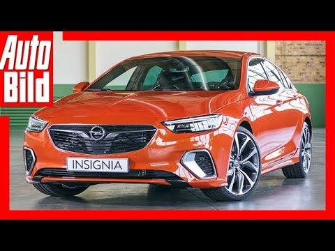 Opel Insignia GSi (2017) -GSi Comeback Review/Details/Erklärung