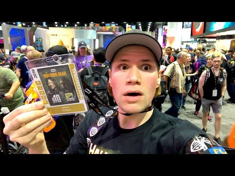 San Diego Comic Con 2019 : Blu-ray And Toy Hunting Adventure