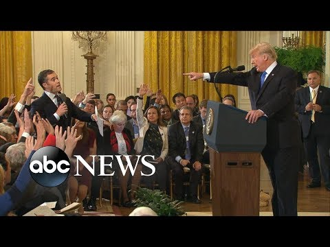 Trump has testy exchange with reporters at White House