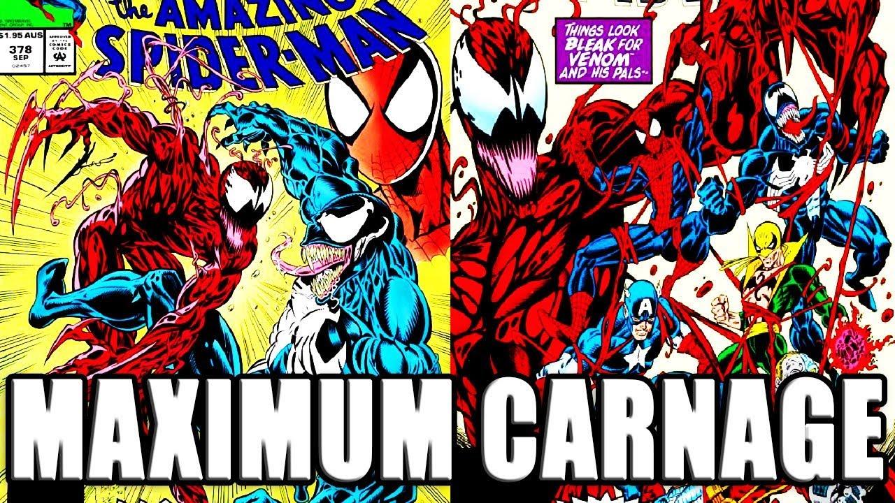 Maximum Carnage Comic History Episode 100 Youtube