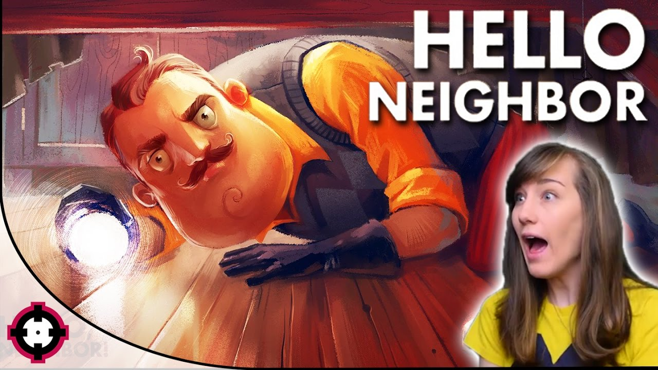 Hello Neighbor Gameplay Pc Stealth Horror Game We Did