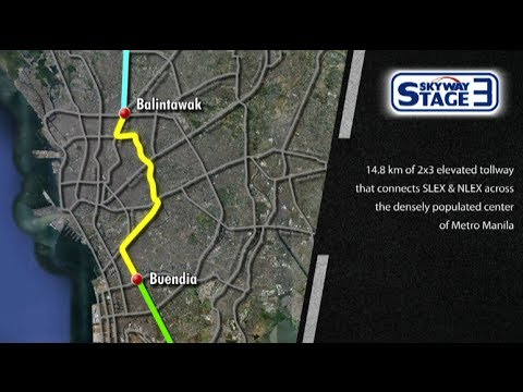 Skyway project linking SLEx, NLEx launched
