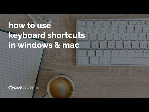 How to Use Keyboard Shortcuts