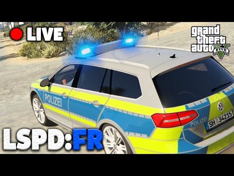 GTA 5 POLIZEI MOD [Wiederholung] - Deutsche Polizei in LOS SANTOS! - Grand Theft Auto V LSPDFR