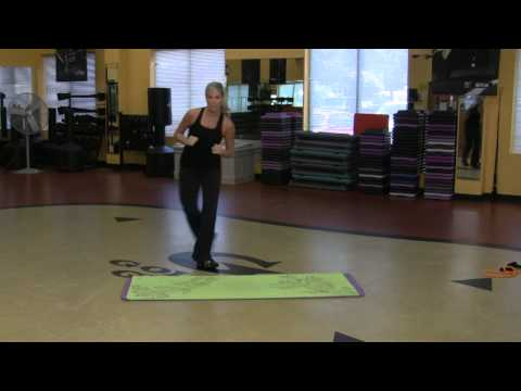 Grapevine Dance Exercises for Aerobic Dancing Workouts : Aerobics Exercise