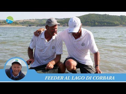 PRESTON INNOVATIONS IT - PESCA A FEEDER SUL LAGO DI CORBARA