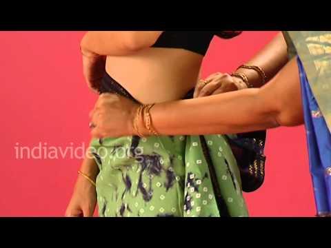 Chungidi Saree Tutorial In Madurai Style - How To Wear A Sari