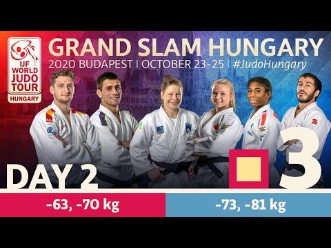 Grand Slam Hungary 2020 - Day 2: Tatami 3