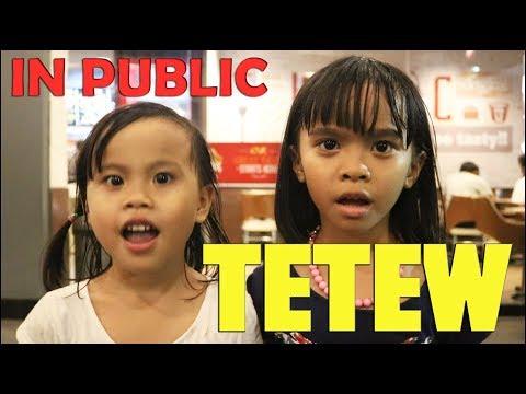 TETEW TETEW In PUBLIC By Flo & Fla - Goyang TETEW - Anjing Kacili