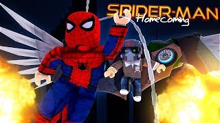 ROBLOX - SPIDER-MAN HOMECOMING THE MOVIE IN ROBLOX!!