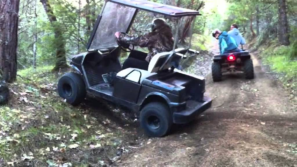 Lifted Golfcart Offroad Youtube