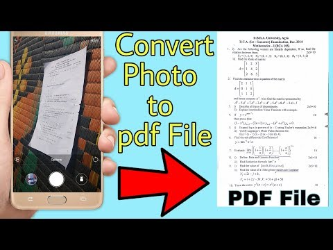 converter photo to pdf || make pdf from images || make pdf file in mobile