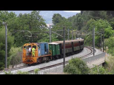 FGC train diesel engine failure