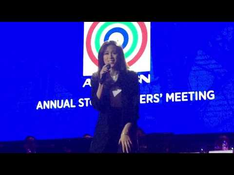 Toni Gonzaga sings Stand Up for Love (original by Destiny's Child)