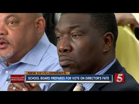Metro School Board goes behind closed doors without director
