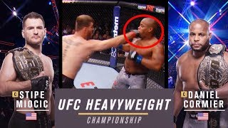 Daniel Cormier vs Stipe Miocic   UFC Heavyweight Championship 2019   241 Free Fight
