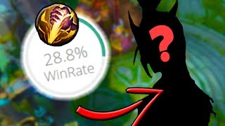 THIS IS LITERALLY THE WORST JUNGLER IN THE GAME - Can We Win With it? - League of Legends