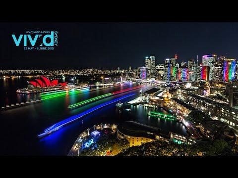 Vivid Sydney 2015 In 4K