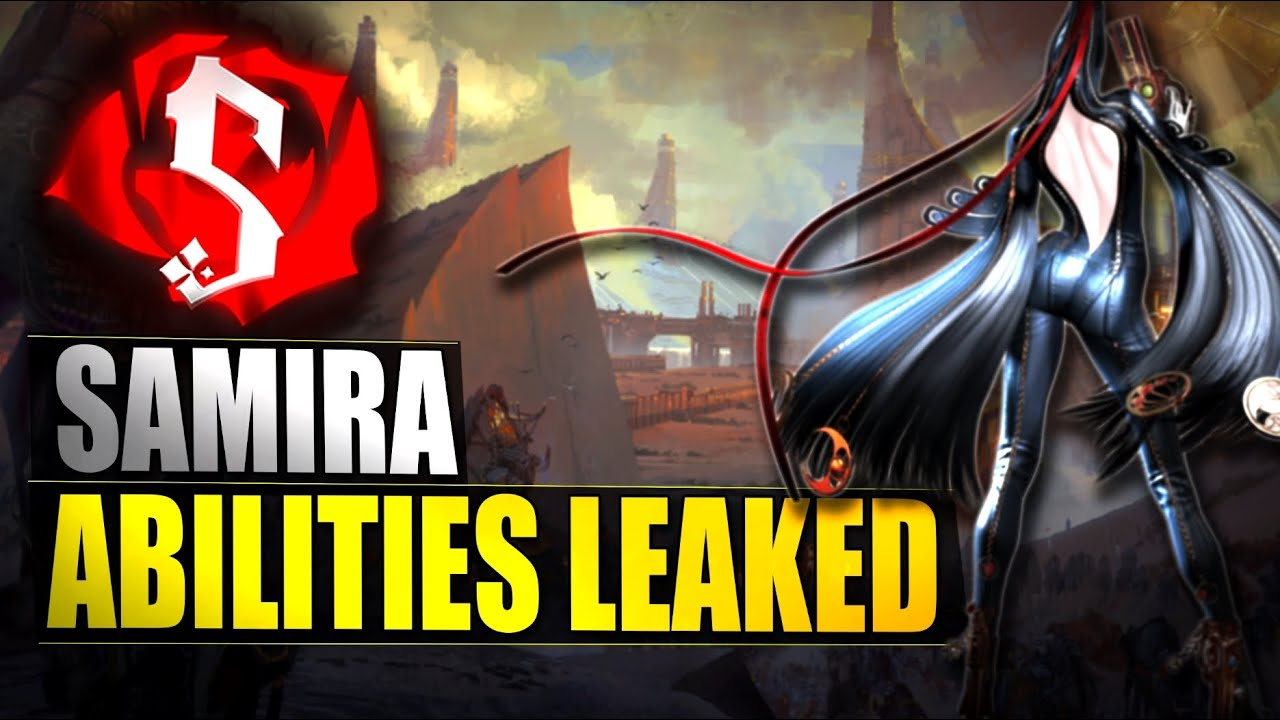 SAMIRA NEW CHAMPION ABILITIES LEAKED - League of Legends