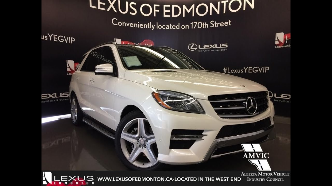 Used 2015 white mercedes benz m class 4matic ml350 bluetec for Mercedes benz ml350 bluetec review