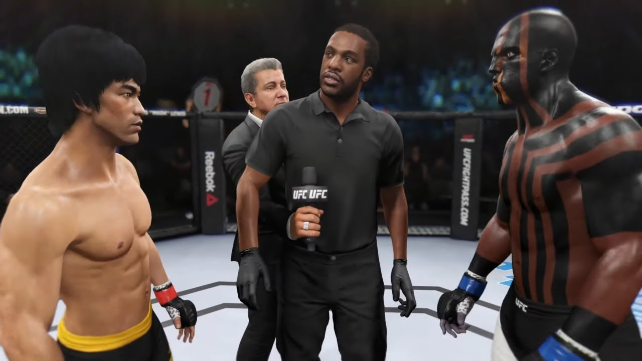 Bruce Lee vs. Night Warrior (EA sports UFC 2)