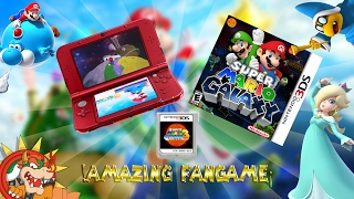 ¡Impresionante Super Mario Galaxy Corriendo En Nintendo 3ds! (Nuevo Fangame 2017)