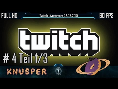 Knusper TV Livestream 22.08.2015 Teil 1/3 [FullHD] [Twitch]