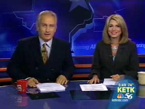 "News Blooper ""I got knocked up last night"""