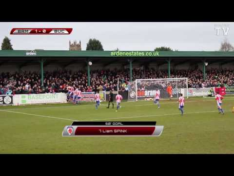 Liam Spink Penalty - Bromsgrove Sporting vs Buckland Athletic - FA Vase