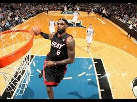 LeBron James - Absolutely All Slam Dunks /HD/