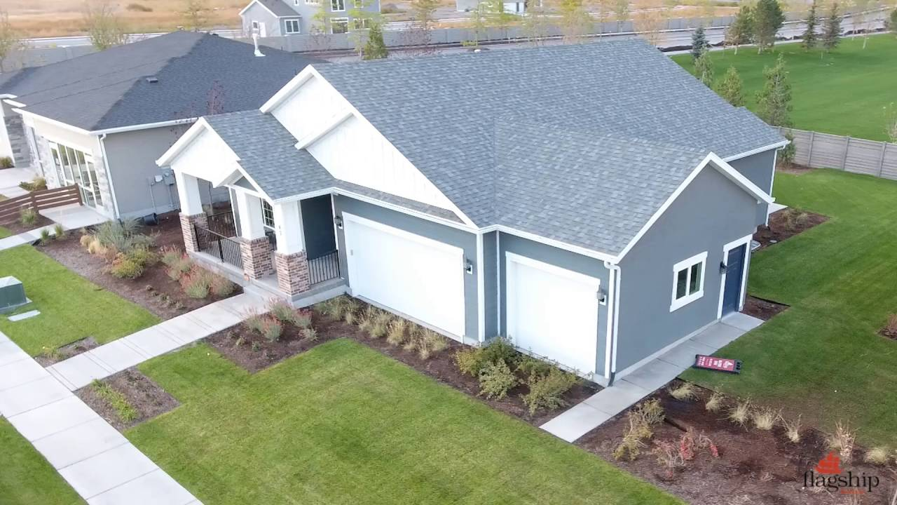 Flagship Homes Vineyard Utah Lot2 Aerial Video Youtube