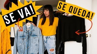 9 TIPS para DEPURAR tu closet / armario!