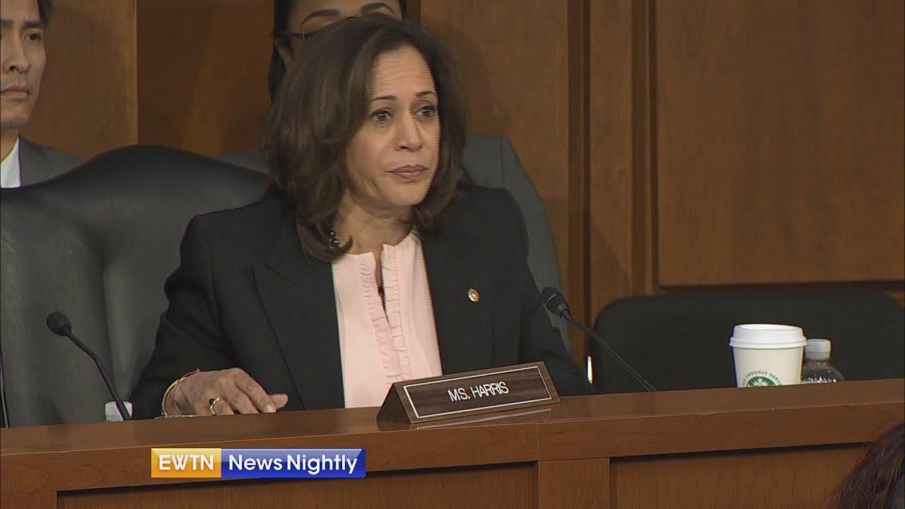 Sen. Kamala Harris' record on issues of faith, religious freedom | EWTN News Nightly
