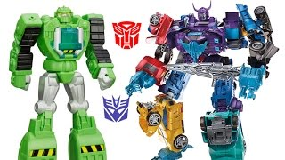 MENASOR EXPLOSION!!!! Transformers Combiner Wars Building Menasor and Ultimate Robot Fight