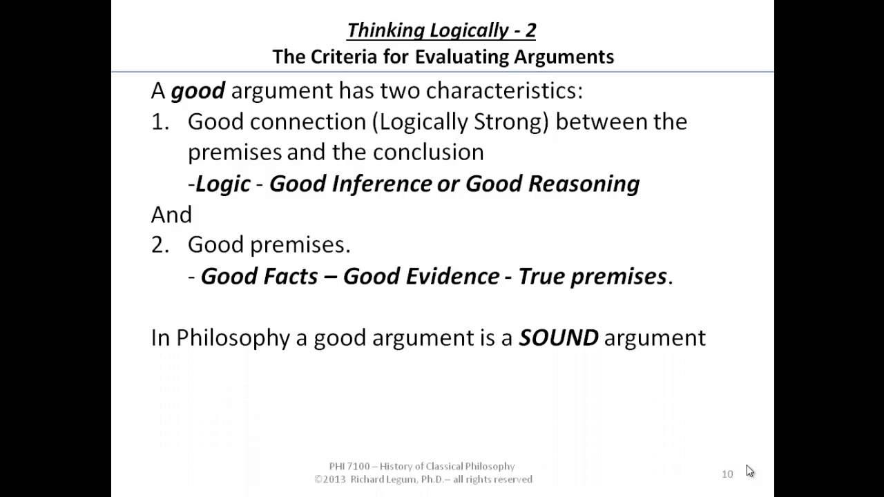 sound argument philosophy