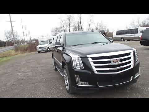 2015 Black /Black Cadillac Escalade ESV (1GYS4SKJ6FR) with an 6.2L V8 OHV 16V FFV engine, 8-Speed Automatic transmission, located at 1725 US-68 N, Bellefontaine, OH, 43311, (937) 592-5466, 40.387783, -83.752388 - Photo #0