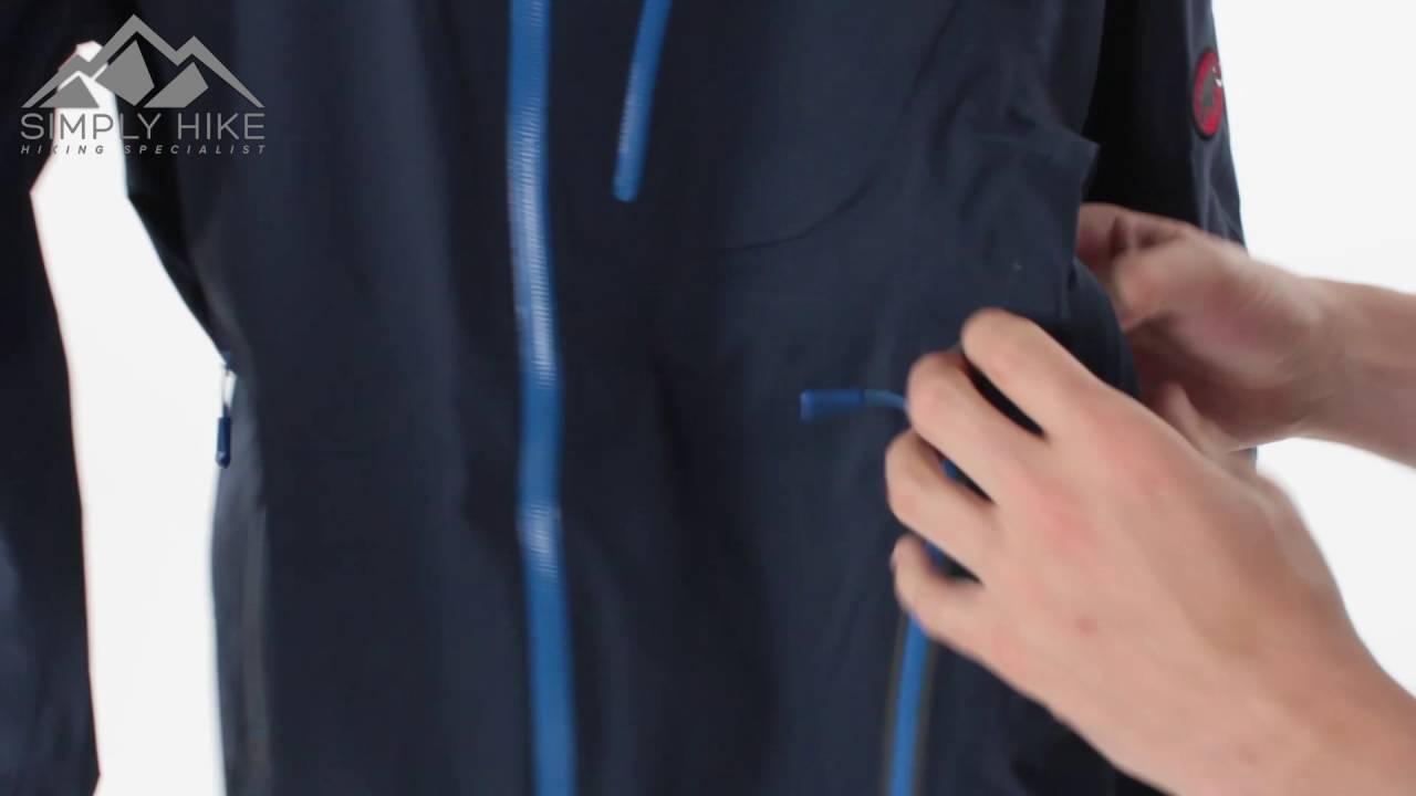 website for discount online for sale arriving Mammut Mens Kento Jacket Marine - www.simplyhike.co.uk