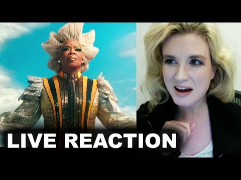A Wrinkle in Time Teaser Trailer REACTION