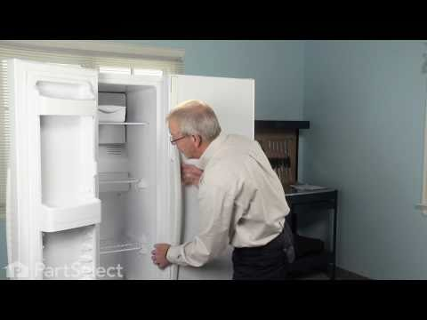 Refrigerator Repair- Replacing the Defrost Thermostat (GE ... on