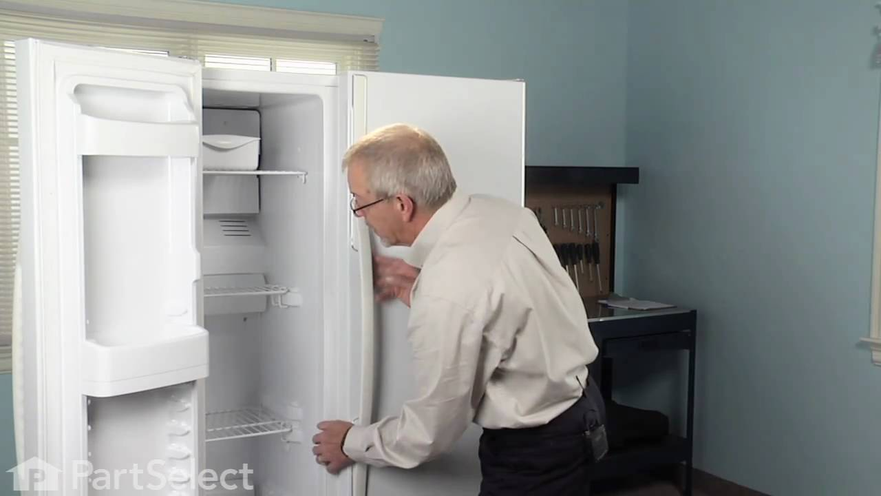 Refrigerator Repair Replacing The Defrost Thermostat Ge